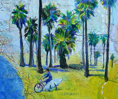 California Dreaming Print by Tilly Strauss