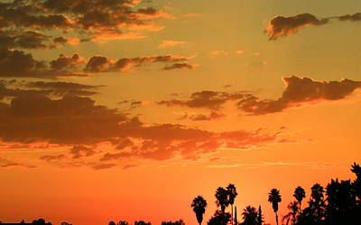 Photograph - California Sunset by Crystal Magee