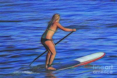 Lifestyle Photograph - California Surfer Abstract Nbr 9 by Scott Cameron