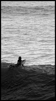 California Ocean Photograph - California Surfing by Brad Scott