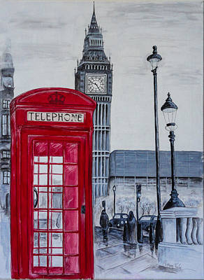 Buckingham Palace Painting - Call Me by Catherine  Carbone