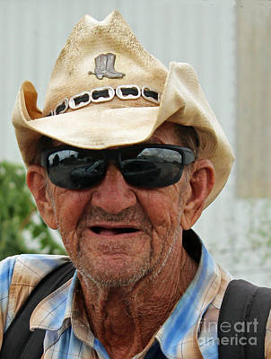 Cowboy Hat Photograph - Call Me Cowboy by Joe Jake Pratt
