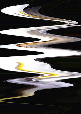 Calla River Print by Norman  Andrus