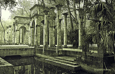 Calle Grande Ruins Print by DigiArt Diaries by Vicky B Fuller