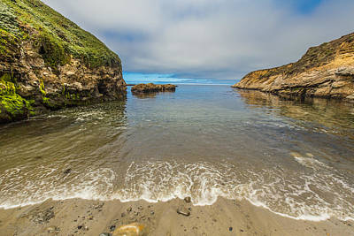 Calm Day On The Coast Print by Marc Crumpler