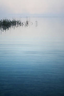 Sunrise Photograph - Calm Ripples On The Lake by Parker Cunningham
