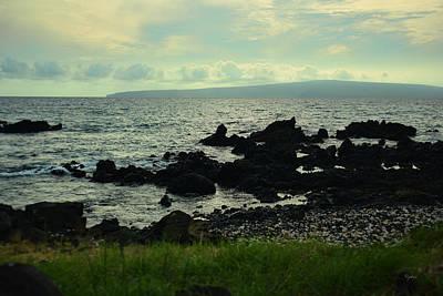 Nature Photograph - Calm Seas by Paulette B Wright