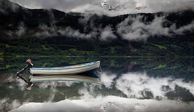 Calm Water Print by Nigel Jones