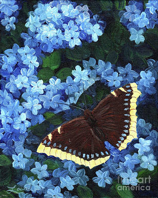 Butterfly Painting - Camberwell Memory by Laura Iverson