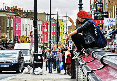 Camden Grunge Print by Keith Armstrong