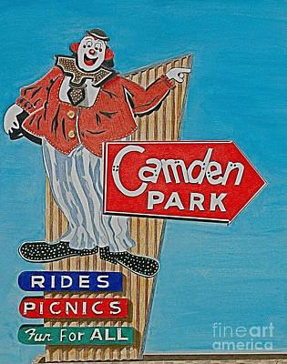 Camden Park Print by Glenda Zuckerman