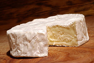 Camembert Cheese Print by Frank Tschakert