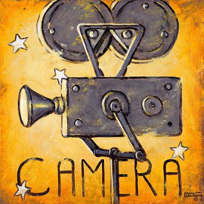 Camera Print by Janet  Kruskamp