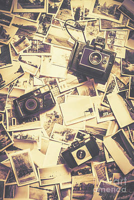Cameras On A Visual Storyboard Print by Jorgo Photography - Wall Art Gallery