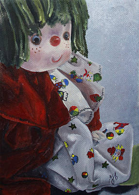 Doll Painting - Camijocamillecalokado by Jane Autry