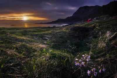 Noruega Photograph - Camping In Spring by Iwan Groot