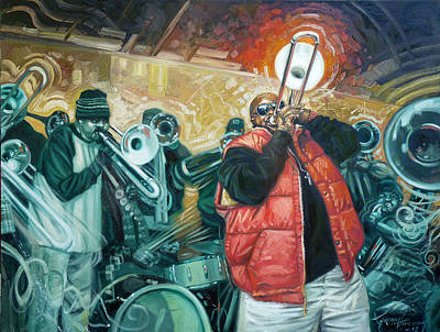 African-american Painting - Can You Hear Us Lord by Gregg Hinlicky