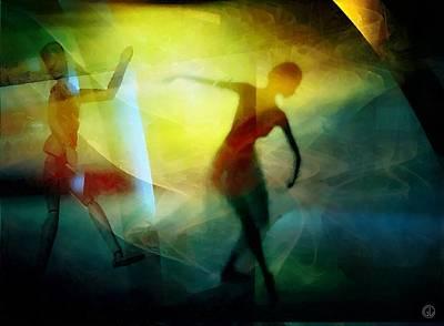 Apophysis Digital Art - Can You Teach Me by Gun Legler