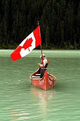Photograph - Canada Day... by Al Fritz