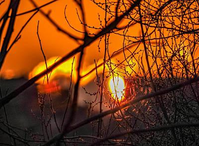 Fall Photograph - Canadian Sunset by Steve Harrington