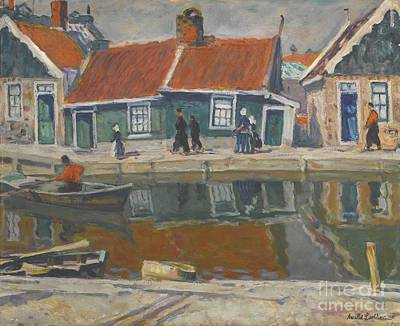 Arnold Painting - Canal by Celestial Images