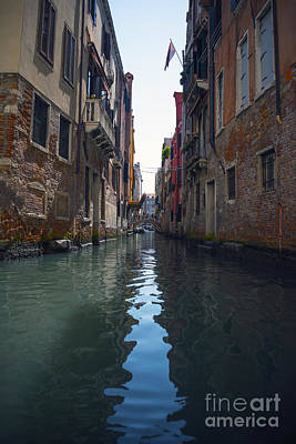 Piazza Mixed Media - Canal Of Venice by Svetlana Sewell