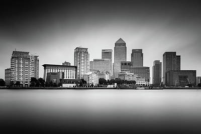 Canary Wharf, London Print by Ivo Kerssemakers