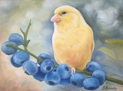 Canary Yellow  Original by Dorothy Brooks