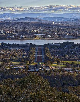 Canberra - Australia Print by Steven Ralser