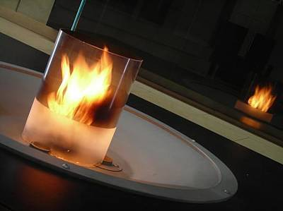 Photograph - Candle Fire by Anne