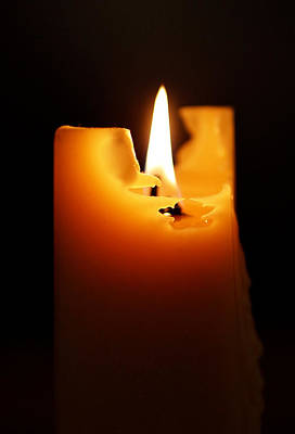 Candle Photograph - Candlelight by Rona Black