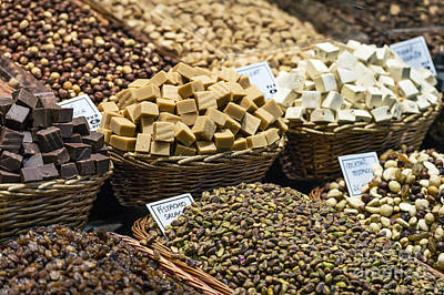 Boqueria Photograph - Candy And Nuts by John Greim
