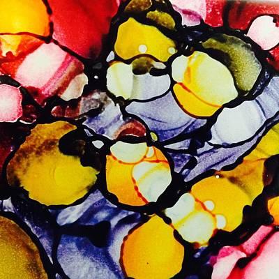 Ceramic Mixed Media - Candy Jar by Starla  Snead