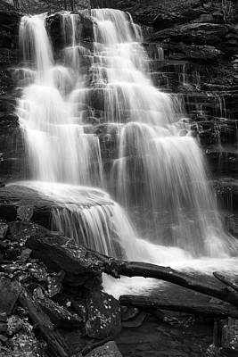 White River Scene Photograph - Canyon Cascade Wilderness Waterfall by John Stephens