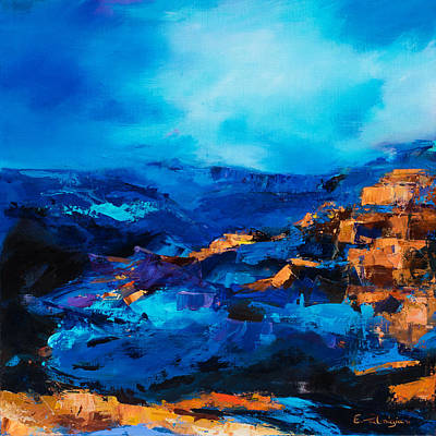 Grand Canyon Painting - Canyon Song by Elise Palmigiani