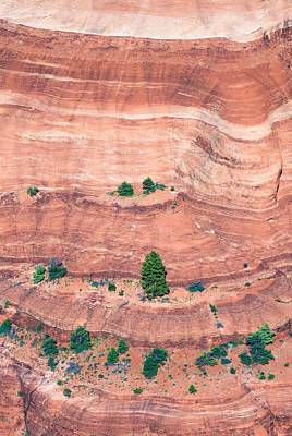 Chelly Photograph - Canyon Wall Abstract by Joseph Smith