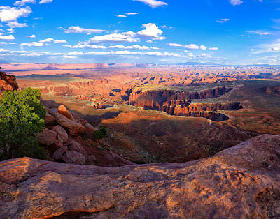 Utah Photograph - Canyonlands Grand View by Greg Norrell