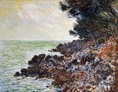 Claude Painting - Cap Martin by Celestial Images