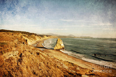 Cape Blanco Coastal View Print by Scott Pellegrin