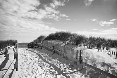 Cape Cod Photograph - Cape Cod Beach Entry by Mircea Costina Photography