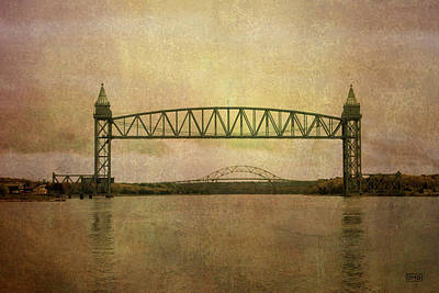 Cape Cod Canal And Bridges Print by Dave Gordon