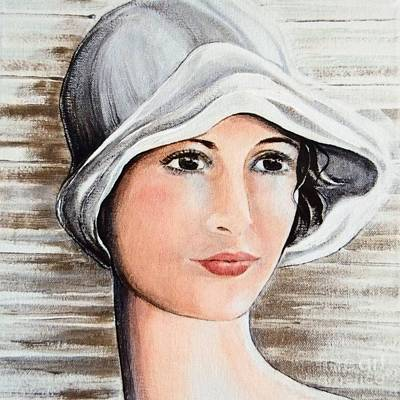 Alluring Painting - Cape Cod Girl by Barbara Chase