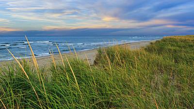 Cape Cod Ma Coast Guard Beach Print by Bill Wakeley