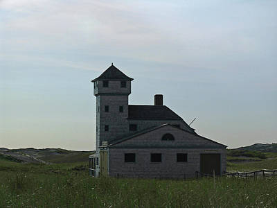 Lighthouses Photograph - Cape Cod Old Harbor Life Saving Station by Juergen Roth