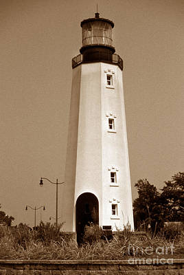 Rehoboth Photograph - Cape Henlopen Replica De by Skip Willits