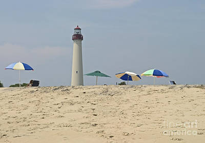 Cape May Lighthouse View Print by Andrew Kazmierski