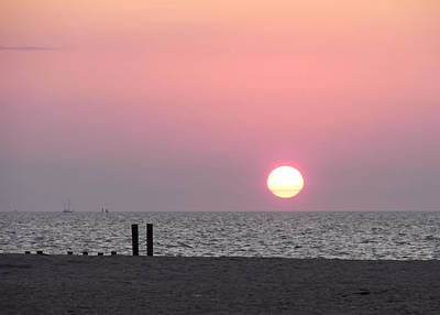 Vacation Photograph - Cape May Sunrise IIi by JAMART Photography