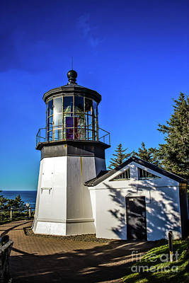 Cape Meares Lighthouse Print by Jon Burch Photography