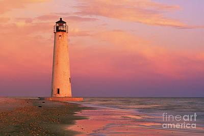 Saint George Photograph - Cape Saint George Lighthouse - Fs000117 by Daniel Dempster