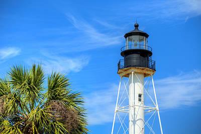 Cape San Blas Lighthouse Print by JC Findley